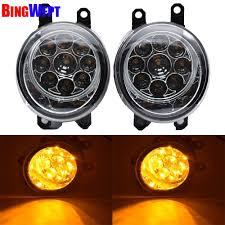 2011 Highlander Fog Light Bulb Amazon Com Hitsan Incorporation 2pcs New Fog Lamp Assembly