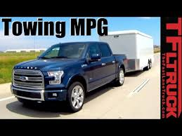 2014 Ford F150 Towing Capacity Chart 2016 Ford F 150 Limited 3 5l Ecoboost V6 Towing Mpg Review