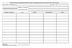 Formato De Asistencia Del Personal Infoleg Ministerio De Justicia Y Derechos Humanos Argentina