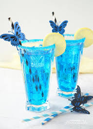 alice s electric blue erfly cocktail