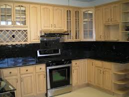 black granite white cabinets backsplash home design ideas
