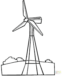 Renewable Energy Coloring Pages At Getdrawingscom Free For