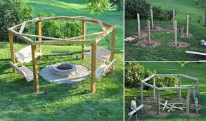 Small Picture DIY Porch Swing Fire Pit Exterior Pinterest Swings fire pits