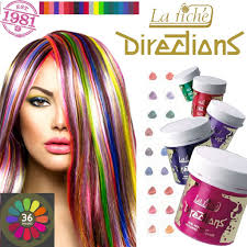 Semi Permanent Hair Dye Colour Chart La Riche Directions Semi Permanent Hair Dyes Color Care Range Instock Free Delivery