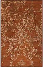 surya banshee ban 3332 rust redwheatmossy gold closeout rust colored rug