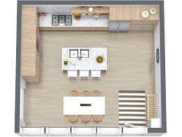 free kitchen floor plan templates. kitchen layout ideas - roomsketcher 3d floor plan of free templates