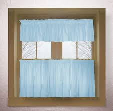 light blue kitchen curtains exceptional impressive baby color tier decorating ideas 2