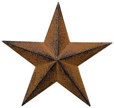 metal rustic star wall decor home outdoor hanging barn small 8 inch steel
