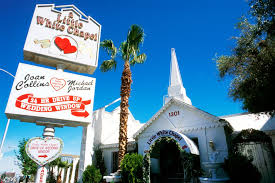 little white chapel on the las vegas strip