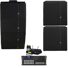 sound system wireless: quick look mackie church sound system with  hda loudspeakers and dl wireless digital mixer