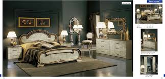 italian bedroom furniture image9. Furniture 30 Off Trend Ivory Bronze Camelgroup Italy Classic Bedrooms Italian Bedroom Image9 N