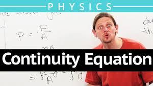 continuity equation physics. continuity equation physics