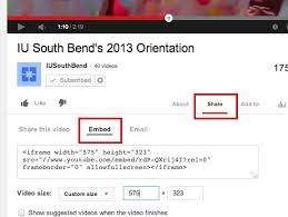 youtube video image size embedding a youtube video into a wcms page