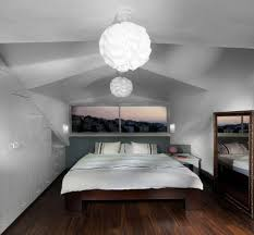 small bedroom lighting ideas. view in gallery pendant lights mirror and the window above bed bring a sense of openness small bedroom lighting ideas