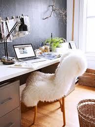living room desk chair. 7 essentials every stylish dorm room needs// office design, sheepskin living desk chair