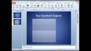 4 Quadrant Powerpoint Diagram