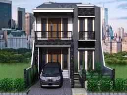 gambar desain rumah minimalis modern 2 lantai 5 desain rumah moderen