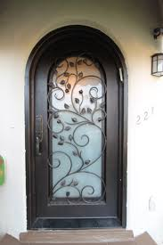 glass front doors with iron. Wonderful Iron Glass Front Doors With Iron Supreme Door Frosted And  With Glass Front Doors Iron