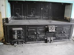 antique magnificent carron cast iron kitchen stove range circa 1874 ukaa you