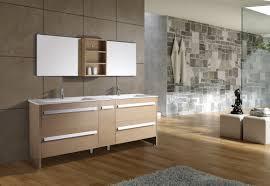 modern bathroom furniture sets. Brown Bathroom Decorating Using Furry Light Grey Area Rug Including Solid Oak Wood Modern Furniture Sets T