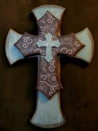 pretty ideas decorative crosses for wall home decor new art and cross simple wooden