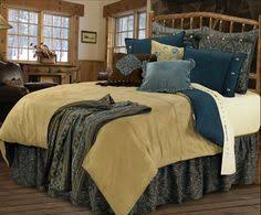 rustic luxury bedding. Interesting Rustic Belle Vista Bedding Set Adorn Your Bedroom With Soothing Blues Russet And  Soft Sand Inside Rustic Luxury