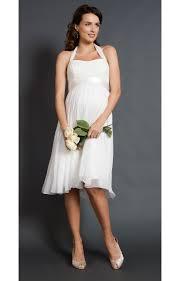 Alya Lace Maternity Wedding Dress Short Maternity Wedding