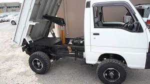 Tiny Truck Subaru Mini Truck With Heavy Duty Dump Youtube