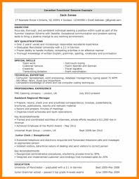 8 Functional Resume Template Free Download Resign Latter
