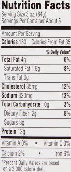 35 capn morgan nutrition label