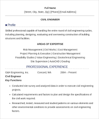 Civil Engineer Resume Template Good Resume Sample For Civil Engineer ...