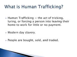 human trafficking powerpoint presentation