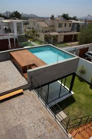 Surrounded House by 2.8x arquitectos. Rooftop PoolCourtyard IdeasSwimming  ...