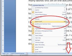how do i count the words in my word document  do