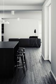 all black furniture. black u0026 white interior love how the is used to anchor space with all furniture i
