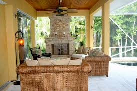 outdoor living room outdoor living room with fireplace wicker furniture