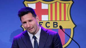 Lionel Messi: Emotionaler Abschied vom FC Barcelona - La Liga - Fußball -  sportschau.de