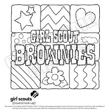 Small Picture Girl scout brownie coloring pages