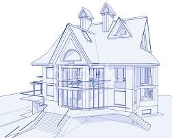 architecture blueprints 3d.  Architecture Haus Blaupause 3d Technisches Konzept Zeichnen In Architecture Blueprints S