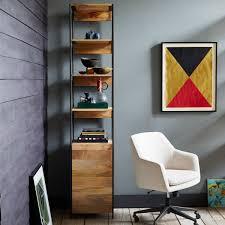 Modular Living Room Furniture Uk Industrial Modular 43cm Open Closed Storage West Elm Uk