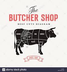 beef cuts diagram poster. Modren Diagram Beef Cuts Diagram Vector Illustration For Butcher Shop And Farm Market And Cuts Diagram Poster O