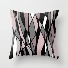 abstract mosaic pink grey white