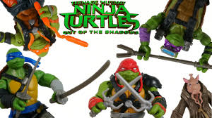 TEENAGE MUTANT NINJA TURTLES 2 TOYS OUT ...