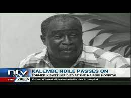 In 2019, kalembe ndile came into the limelight again claiming his life was in danger following rivalry with machakos governor alfred mutua. Jkcxhtmplspzhm
