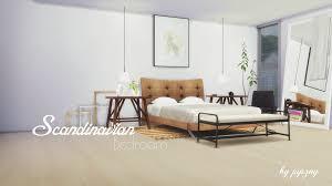 Sims Bedroom My Sims 4 Blog Scandinavian Bedroom Set By Pyszny