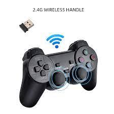 Máy chơi game điện tử 4 nút Tay cầm không dây 32G/64G. - Máy chơi Game khác  Nhãn hiệu OEM