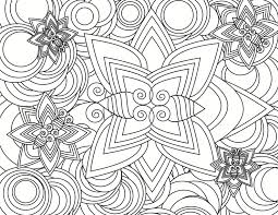 Small Picture Printable Abstract Coloring Pages Coloring Coloring Pages