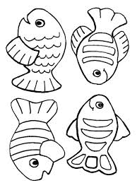 Small Picture Multiple Fish Coloring Pages Coloring Pages