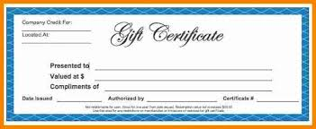 free gift certificate template for microsoft word free blank gift certificate template word 2954 jpg