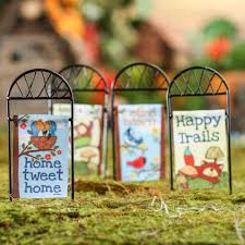 Small Picture Nice Looking Mini Garden Flags Perfect Design Miniature Garden